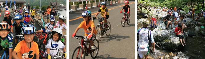 夏のサイクリング 美山第2回