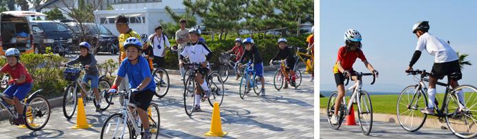2011渥美半島ぐる輪サイクリングスクールの様子