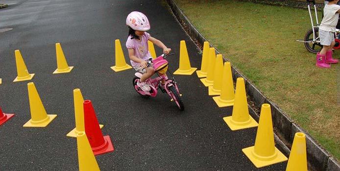 難しい障害コースをつくって遊んだ